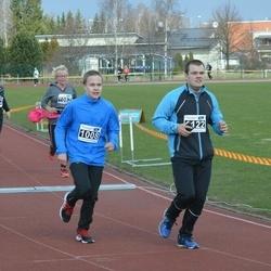 Helsinki Spring marathon - Anton Rytinki (1008), Henrik Rytinki (1122)