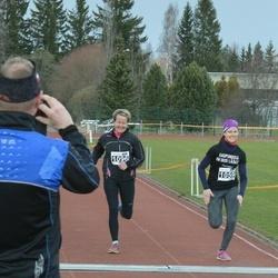 Helsinki Spring marathon - Sonja Alin (1059), Jaana Vuori (1096)
