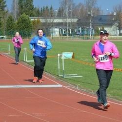 Helsinki Spring marathon - Tanja Svirskis (1136), Janne Turtiainen (1183)