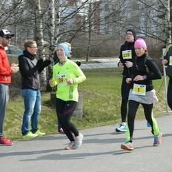 Helsinki Spring marathon - Hanna Katariina Vauhkonen (1), Nina Poppius (39)