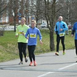 Helsinki Spring marathon - Aino Ollila (15), Lars Landgren (110), Petri Kauppi (248)