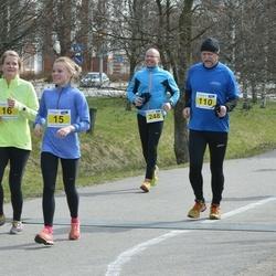 Helsinki Spring marathon - Aino Ollila (15), Lars Landgren (110)
