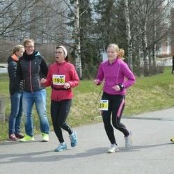 Helsinki Spring marathon - Piia Tantarimäki (23), Lauri Kolu (135), Riitta Saukkonen (193)