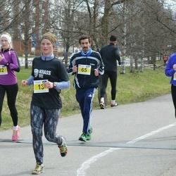 Helsinki Spring marathon - Sarah Perrine (11), Annika Seefeld (13), Ismael Pedraza (65)