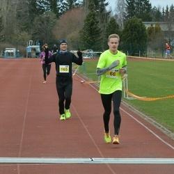 Helsinki Spring marathon - Niko Hosiaisluoma (66), Harri Tossavainen (165)
