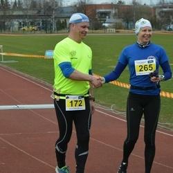 Helsinki Spring marathon - Timo Tollola (172), Sanna Kullberg (265)