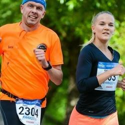 Helsinki Half Marathon - Katri Djerf (503), Sami Sundström (2304)