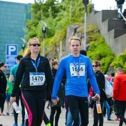 Helsinki Half Marathon - Lotta Lundell (1470), Juhani Narko (1656)