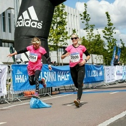 Helsinki Half Marathon - Mikaela Reinikainen (2004), Sanna Reinikainen (2006)
