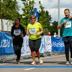 Helsinki Half Marathon - Ulla Rahkola (1959), Andre Visapää (3161)