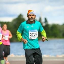 Helsinki Half Marathon - Sandip Chakrabarti (2706)