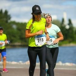 Helsinki Half Marathon - Marjo Seliö (218)