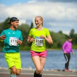 Helsinki Half Marathon - Harri Härkönen (2778), Pauliina Sutinen (3103)