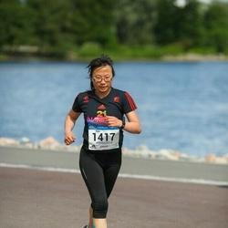 Helsinki Half Marathon - Xijia Liao (1417)