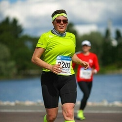 Helsinki Half Marathon - Virpi Sikiö (2203)