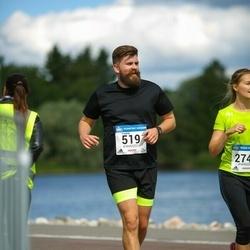 Helsinki Half Marathon - Fredrik Ekholm (519)