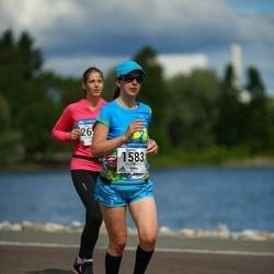 Helsinki Half Marathon - Veronika Micakova (1583)