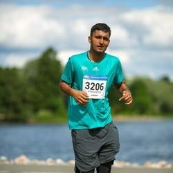 Helsinki Half Marathon - Ravi Yadav (3206)