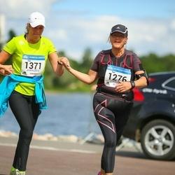 Helsinki Half Marathon - Sari Kärnä (1276), Eija Lehestö (1371)
