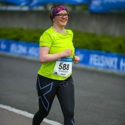 Helsinki Half Marathon - Usva Friman (588)