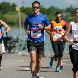 Helsinki Half Marathon - Lee Clarkson (805)