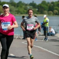 Helsinki Half Marathon - David Warren (3111)