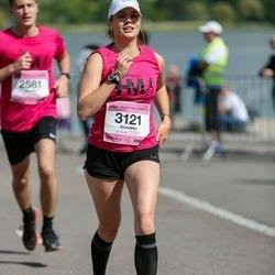Helsinki Half Marathon - Annukka Vauhkonen (3121)