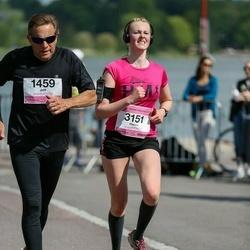 Helsinki Half Marathon - Jeff Kimber (1459), Hanna Wierenga (3151)