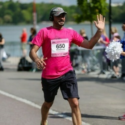 Helsinki Half Marathon - Mohammed Al-Musawi (650)