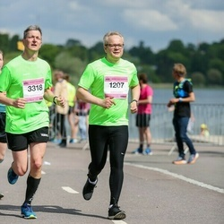 Helsinki Half Marathon - Sami Anttilainen (1207), Erik Kornfeld (3318)