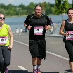 Helsinki Half Marathon - Titta Kouri (1569), Jarno Suodenjoki (2907), Sini Suodenjoki (2908)