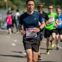 Helsinki Half Marathon - Magnus Hindström (1129)