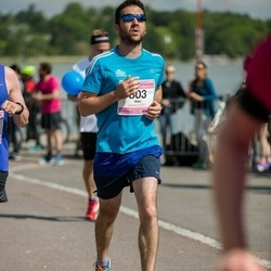 Helsinki Half Marathon - Alex Clark (803)