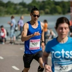 Helsinki Half Marathon - Pekka Heikkinen (1051)