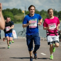 Helsinki Half Marathon - Elias Herranen (1107), Kimmo Itkonen (3478)
