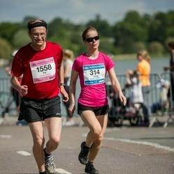 Helsinki Half Marathon - Anna Salorinne (314), Kai Kosonen (1558)