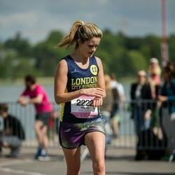 Helsinki Half Marathon - Gemma Newbery (2222)