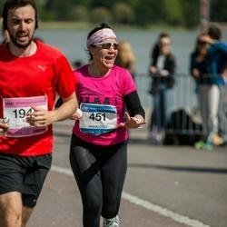 Helsinki Half Marathon - Leena Lindström (451)