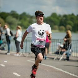 Helsinki Half Marathon - Oskar Björklöf (731)