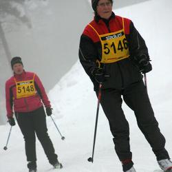 Finlandia-hiihto - Irja Kantanen (5146), Anne Vallinen (5148)
