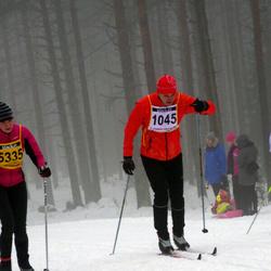 Finlandia-hiihto - Ago Võhmar (1045), Armi Lampi (5335)