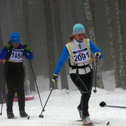 Finlandia-hiihto - Martti Widing (1454), Iveta Neumanova (2091)