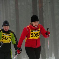 Finlandia-hiihto - Leena Hokkanen (5093), Mikko Suominen (5489)