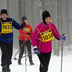 Finlandia-hiihto - Jouni Järvi (5033), Sinikka Simola (5034)