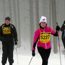 Finlandia-hiihto - Tiia Lehmusoksa (5227), Riku Laurila (5526)