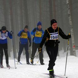 Finlandia-hiihto - Mari Lappalainen (1944), Anssi Korhonen (5471), Esko Korhonen (5557)