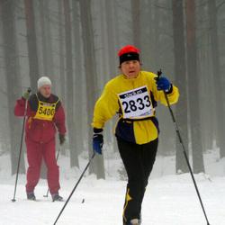 Finlandia-hiihto - Kirsi Raiskio (2833), Matti Paananen (5400)