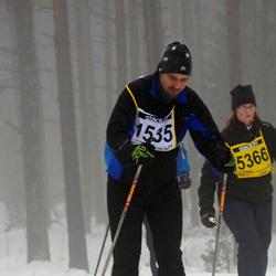 Finlandia-hiihto - Jouni Pöllänen (1535), Katri Mehtälä (5366)