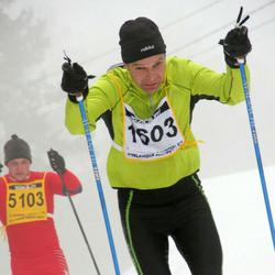 Finlandia-hiihto - Antero Vesalainen (1603), Kirill Titov (5103)