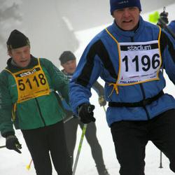 Finlandia-hiihto - Petri Virtanen (1196), Anto Berg (5118)